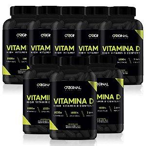 Combo 8x Vitamina D 60 Cáps - Original Nutrition