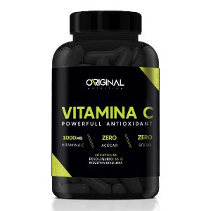 Vitamina C Powerfull Antioxidant 60 Cáps - Original Nutrition