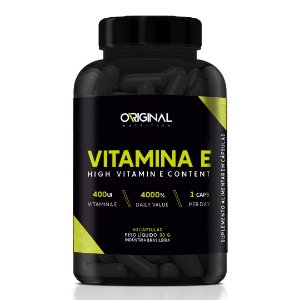 Vitamina E High Vitamin D Content 60 Cáps - Original Nutrition