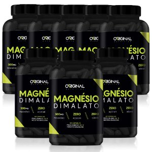 Kit 8x Magnésio Dimalato 60 Cáps - Original Nutrition