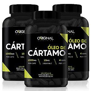 Combo 3x Óleo de Cártamo 120 Cáps - Original Nutrition