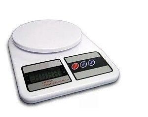 Balança Digital de Cozinha 10KG PLÁSTICO