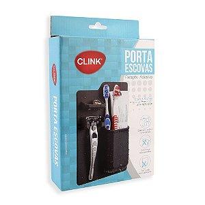 Porta Escovas com Fixação Adesiva Sem Cola CLINK