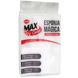 KIT 2 Esponjas mágica MAX CLEAN CLINK