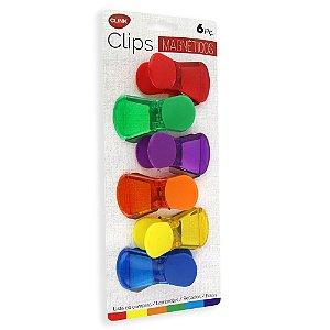 Clips Magnéticos 6 PEÇAS CLINK