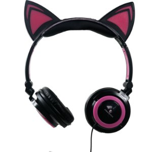 CAT EAR HEADPHONES H'MASTON COM FIO
