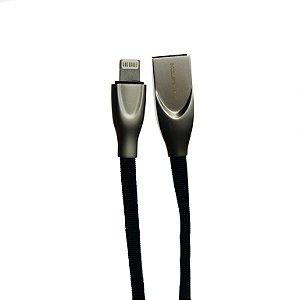 CABO USB HMASTON 4.8A METÁLICO PARA IPHONE