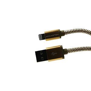 CABO USB E CARGA HMASTON PARA IPHONE 3 METROS HS31