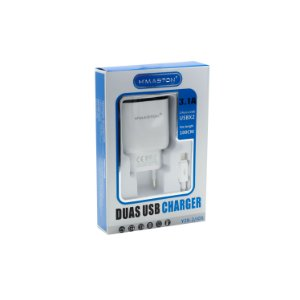 CARREGADOR HMASTON PARA IPHONE RÁPIDO 3.1A  Y28-2