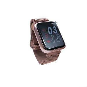 Relógio smartwatch p80 troca pulseira