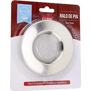 RALO DE PIA AÇO INOX 7,5CM CLINK