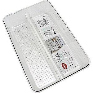Cesto Organizador Geladeira Plástico 23x15,5x5,7cm CLINK