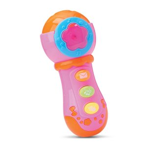 MINI MICROFONE MUSICAL BEETOYS