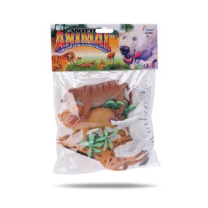 KIT ANIMAIS SELVAGENS BEE TOYS
