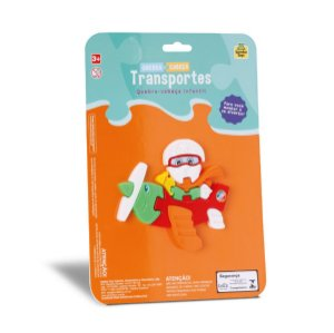 Quebra-cabeça Transportes SAMBATOYS