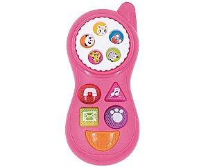 BABY ANIMAL PHONE BICHINHOS PICA PAU BRINQUEDOS