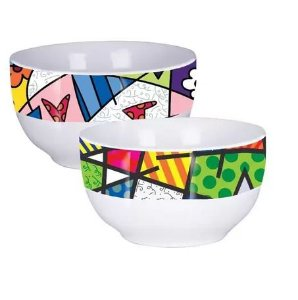 BOWL PORCELANA ROMETO BRITTO 530ML YAZI