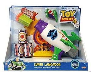 Super Lançador De Dardos Com Alvos Buzz Lightyear Toy Story toyng