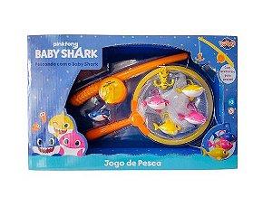 JOGO PESCA BABY SHARK COM ACESSORIOS TOYNG