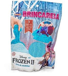 Areia de Modelar e Acessórios - Brincareia - Disney - Frozen 2 - Azul - Toyng