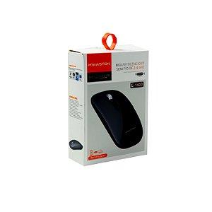 MOUSE WIRELESS 2.4G 1600DPI - E-1400 - HMASTON