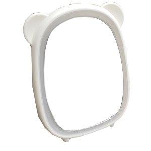 espelho de mesa orelha de urso com led amigold