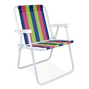 Cadeira Alta Fixa de Ferro Pintura Epóxi 2002 MOR