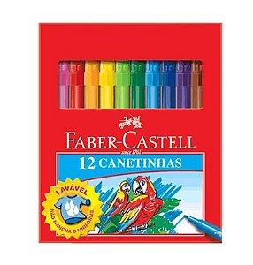 12 CANETINHAS FABER CASTELL LAVÁVEL
