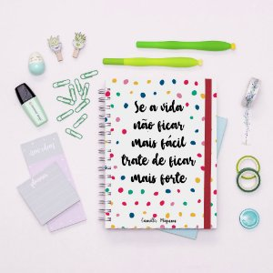 Caderno - Poá