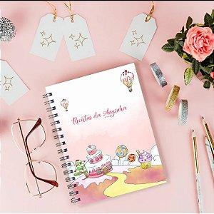 Caderno de Receitas - Candyland