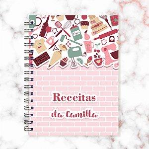 Caderno de Receitas - Tijolinhos