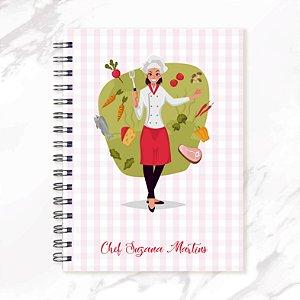 Caderno de Receitas - Chef