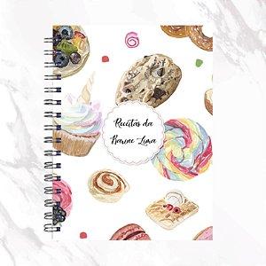 Caderno de Receitas - Cookie