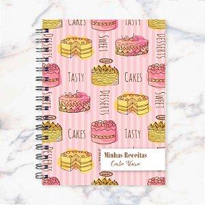 Caderno de Receitas - Tortas