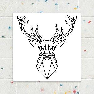 Quadro 18x18 - Cervo