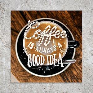 Quadro 18x18 - Coffee