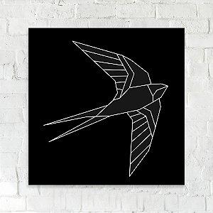 Quadro 18x18 - Pássaro