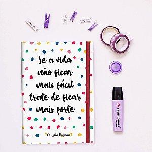 Caderno Flexível - Poá