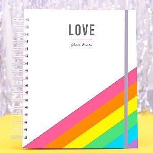 Planner Colorido 2020 - Love