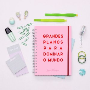 Planner Minimalista 2020 - Grandes Planos