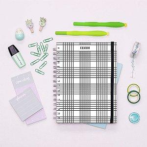Caderno - Preto e Branco