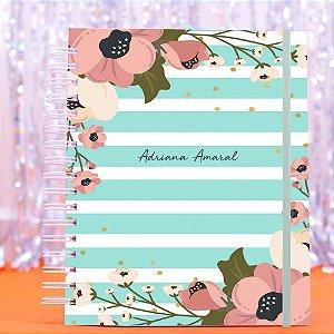 Caderno Universitário - Azul Turquesa