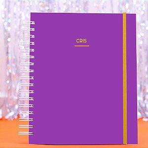 Caderno Universitário - Roxo