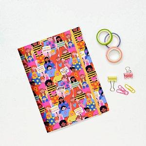 Caderno Flexível - Por igualdade