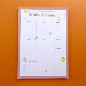 Planner de Mesa - Semanal