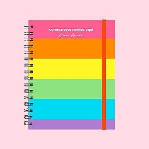 Planner Colorido - Comece seus sonhos
