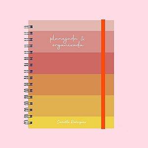 Planner Colorido - Planejada e Organizada