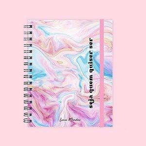 Planner Colorido - Seja quem quiser ser