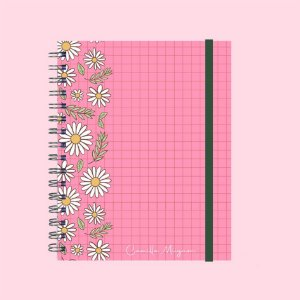 Planner Minimalista - Floral