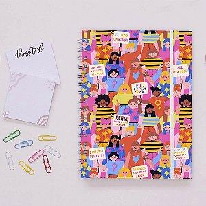 Planner Colorido - Por igualdade